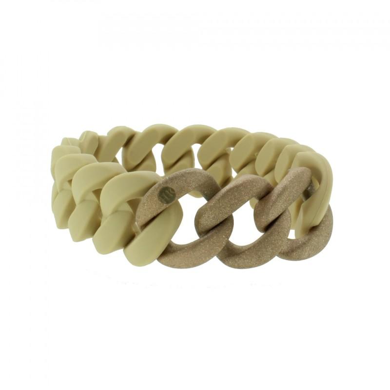 HANSE-KLUNKER ORIGINAL Damen Armband 107795 Edelstahl sand rosegold sandgestrahlt