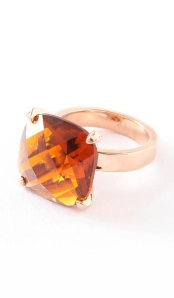 Hanse-Klunker Ring 100457 Edelstahl rosegold