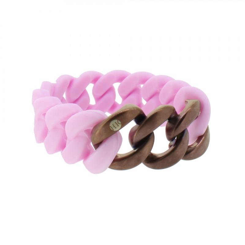 HANSE-KLUNKER ORIGINAL Damen Armband 107955 Edelstahl flieder bronze matt