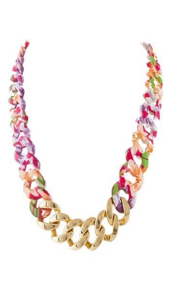 HANSE-KLUNKER Damen Kette 107474 Edelstahl hawaii gold